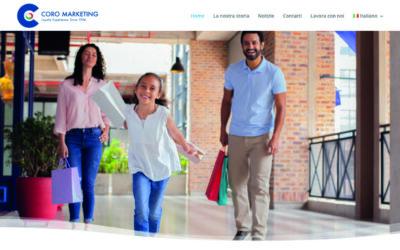 E' on-line il nuovo sito web di Coro Marketing