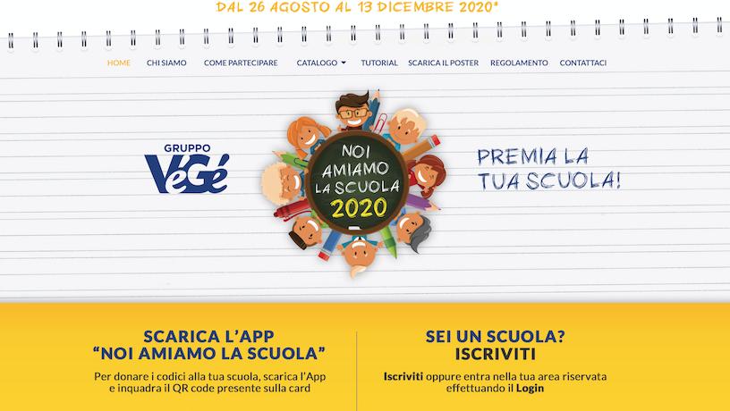 Noi amiamo la scuola Edizione 2020