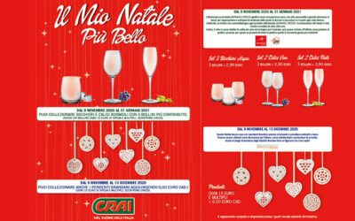 Padial – Short Bicchieri Bormioli + Self Pendenti Brandani