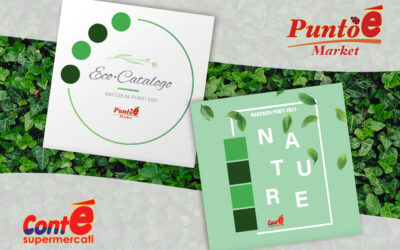 """The new promotion for the Conté """"Nature"""" and Puntoé """"Eco-Catalog"""" catalogs of the Perrone Group"""